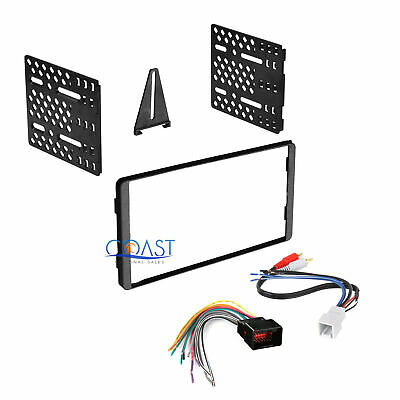 Car Radio Stereo Double Din Dash Kit Harness for 1998-UP Ford Lincoln Mercury