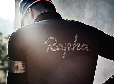 NWT RAPHA Men's Cycling Winter Windproof Jersey, XL, Black