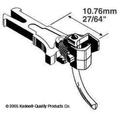Kadee 19 NEM362 European Coupler Long  10.61mm  (2 Pairs)