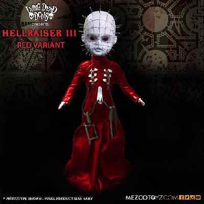 Living Dead Dolls - Hellraiser III Pinhead Red Exclusive - February UK release.