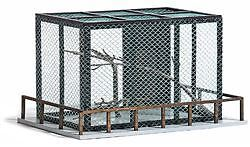 Busch Ho Scale 1/87 Animal Cage For Zoo | Bn | 1583
