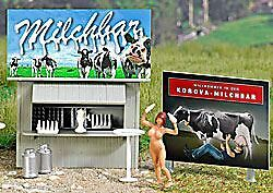 Busch Ho Scale 1/87 Milk Bar Roadside Stand | Bn | 7721