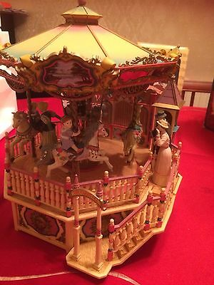 Enesco Small World of Music Carousel Royale