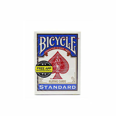2 Decks Packs New Bicycle Standard Playing Cards Blue Used by Magicians