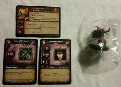 World of Warcraft Miniature Game, Magistrix Kiala figure,Core-R and cards, WoW