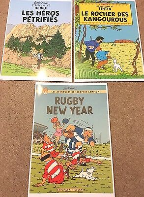 Parody Tintin Cover Posters - Edwood & Others BUY INDIVIDUALLY Herge Prints