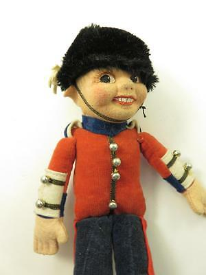 Vintage Nora Wellings  Signed English Bobby Doll Cloth As Found