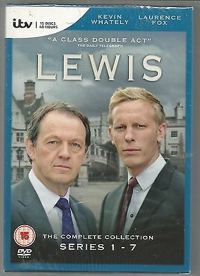 LEWIS - COMPLETE SERIES 1 - 7 - sealed/new UK R2 DVD BOX SET
