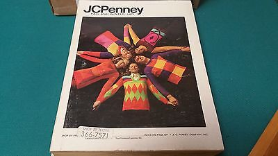 Vintahe 1971 Jcpenney Fall And Winter Catalog