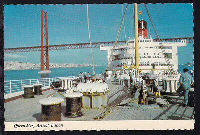RMS Queen Mary in Lissabon