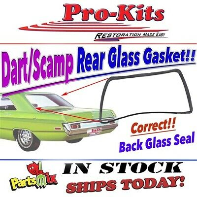 Mopar 68 69 70 71 72 73 74 75 76 Dart Scamp Rear Glass Rubber Gasket Seal