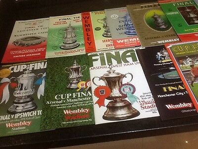 FA Cup Final programmes  14 copies between 1963 and 1984