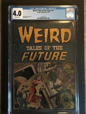 1952 Aragon Weird Tales of the Future #1 CGC 4.0