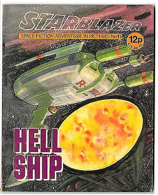Starblazer 13 (1979) high grade copy - Alan Rogers artwork