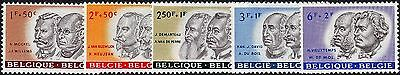 Belgium 1961 Cultural Funds Part Set MUH