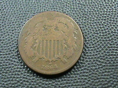 UNITED  STATES    2  Cents    1864    #  2