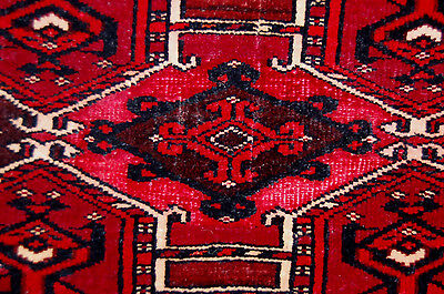 Fine Pre 1900 Sarykh Turkoman Animal Trapping With Silk And Cotton