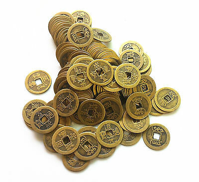 Collect 20pcs Chinese Bronze Coin China Old Dynasty Antique Currency Cash