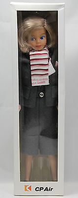 Vintage CP Air Flight Attendant Barbie Style Doll NIB Canadian Pacific Airlines