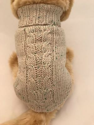 Small dog warm sweater. pet clothes winter apparel, puppy