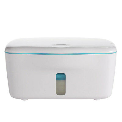 NEW OXO Tot PerfectPull Wipes Dispenser with Weighted Plate - Aqua