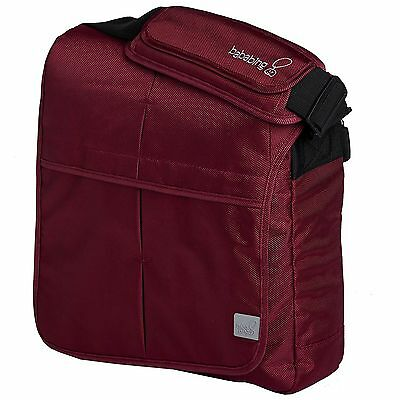BabaBing! DayTripper Lite Baby Messenger Carry Bag / Satchel - Rustic Red