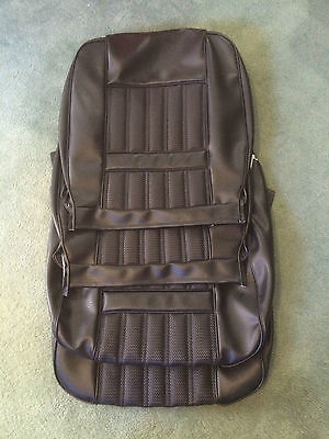 FORD   XY  Fairmont / GT BLACK  Front  seat  trim covers
