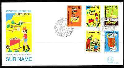 Suriname 1982 Fdc – Child Welfare #a0887