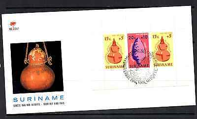 Suriname 1975 Fdc – Child Welfare Mini Sheet #a0140