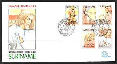 Suriname 1981 Fdc – Easter #a0667