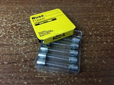 AGC 4A FUSE Package of 5 250V