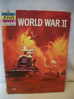 How And Why Wonder Book Of World War Ii 1962