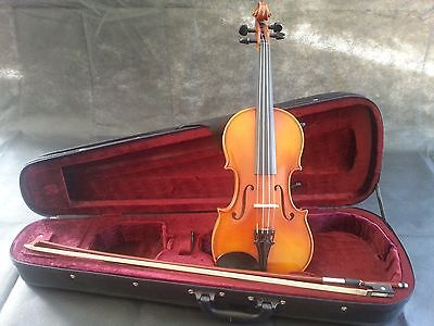 Suzuki NAGOYA NS-20 Violin 3/4 with Case and Bow