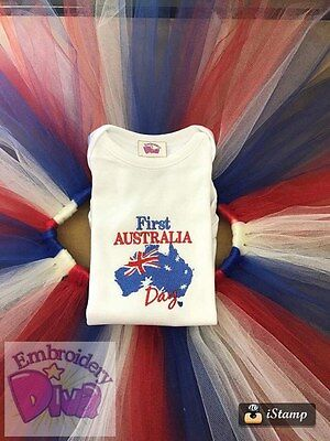 Baby/toddler Personalised Australia Day Outfit
