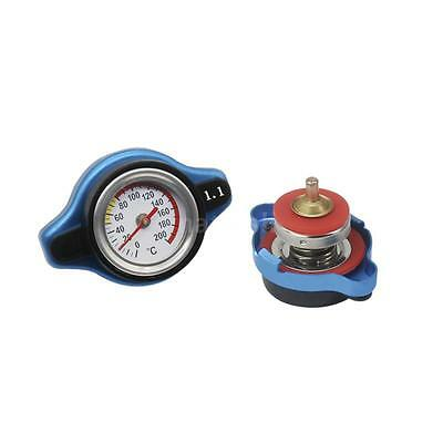Universal 1.1BAR Car Thermostatic Radiator Cap With Water Temperature Gauge S3F3