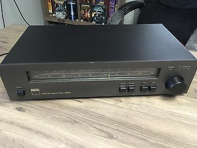 NAD Tuner 4020A Stereo AM / FM 1980 - Tested