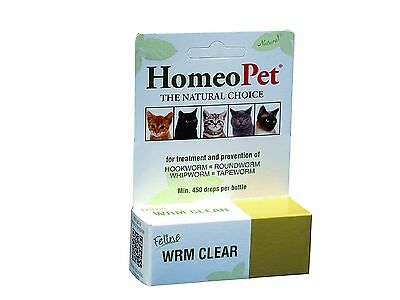 HomeoPet Feline Wrm Clear 15ml