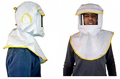 Sandblasting Hood Blasting Hood Made From Durable Canvas with Large Viewing and