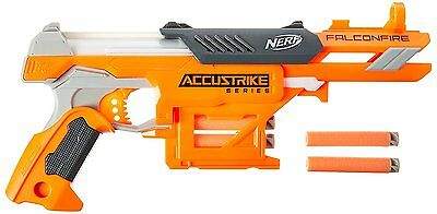 Brand New NERF N-Strike Elite FALCONFIRE Dart BLASTER Accustrike Series USA Vers