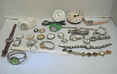 old watch lot for parts or jewery making