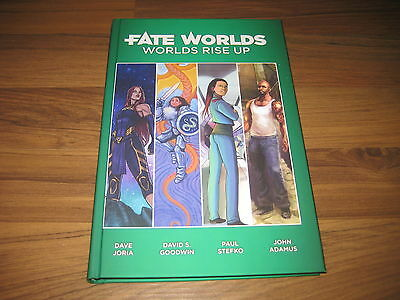 Fate RPG Worlds Rise Up Hardcover Evil Hat Productions 2016 New Neu