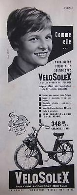 Publicité 1960 Velosolex Embrayage Automatique Compound - Advertising