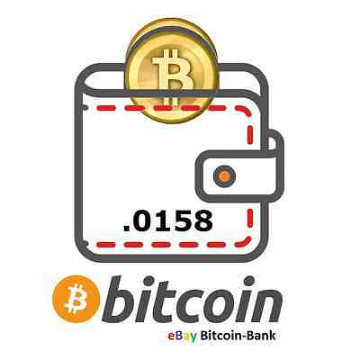 .0158 BITCOIN Crypto Currency Guaranteed Deliver Direct to Your Wallet! BTC