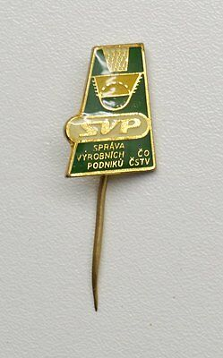 SVP Slovakian Basketball Pin Badge