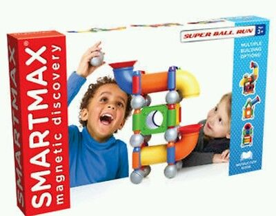 Smartmax Magnetic Discovery Super Ball Run Building Set NEW 39 Pieces