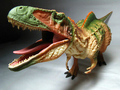 2015 New Collecta Dinosaur Toy / Figure Acrocanthosaurus With Moving Jaw (1:40)