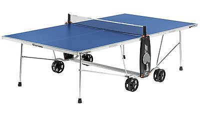 Blue Cornilleau Sport 100S Crossover Outdoor Table Tennis Table With Accessories
