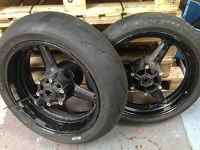 Yamaha R1 Yzf-R1 4Xv 5Jj 1998 1999 2000 2001 Front & Rear Wheels With Tyres
