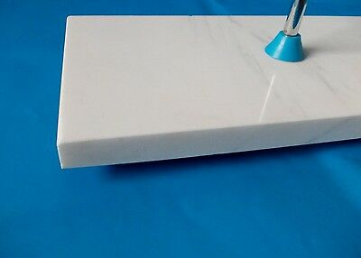 Laboratory Support Stand With Rod  Marble Base  300 X 150 Mm  Rod 650 Mm