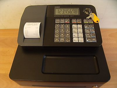Cheap Easy To Use Casio Cash Register Shop Till Thermal Printer & Spare Rolls